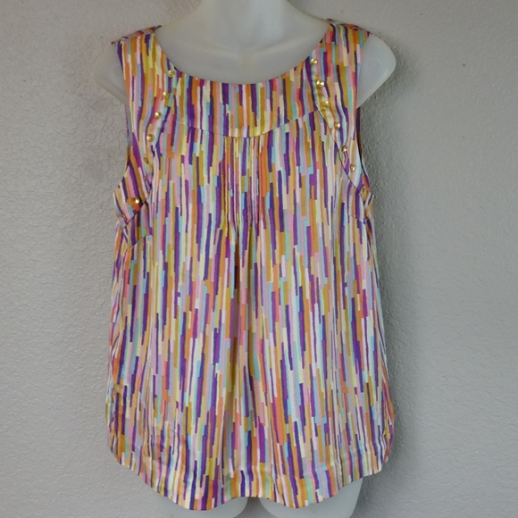 leifsdottir Tops - Leifsdottir Anthropologie Sleeveless Silk Top